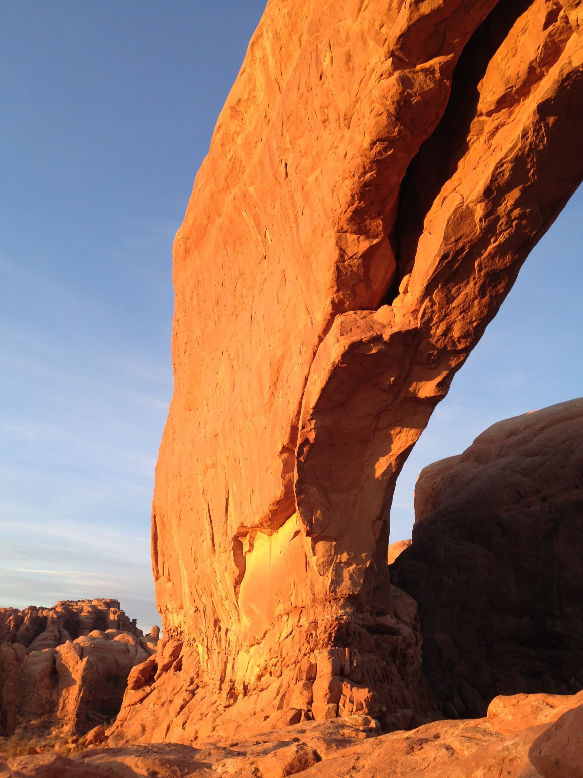 Arch in Arches National Park, UT