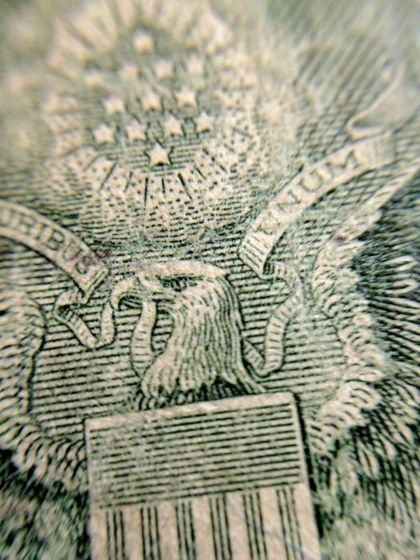 $2 Bill Macro Eagle